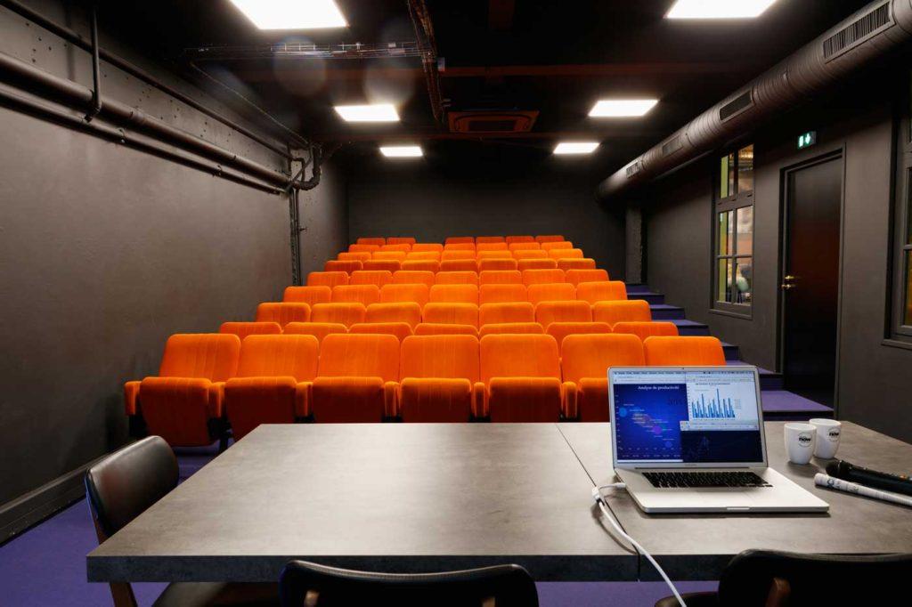 Now Coworking Rouen, l'amphithéâtre