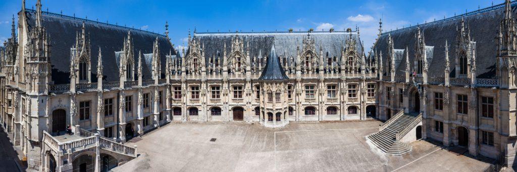 Palais de Justice de Rouen, ancien parlement de Normandie