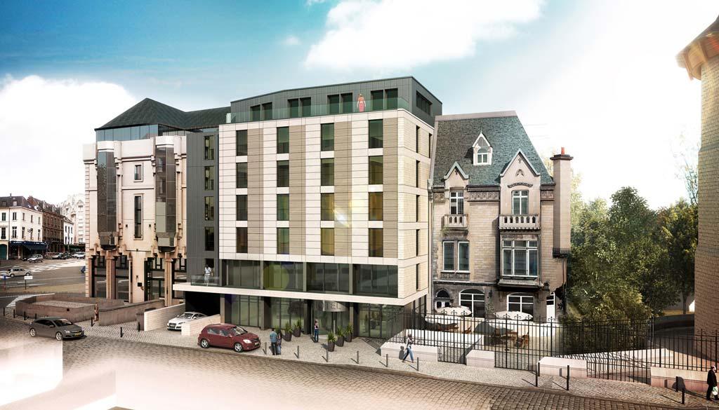 Radison Blu à Rouen, hôtel quatre étoiles de 90 chambres