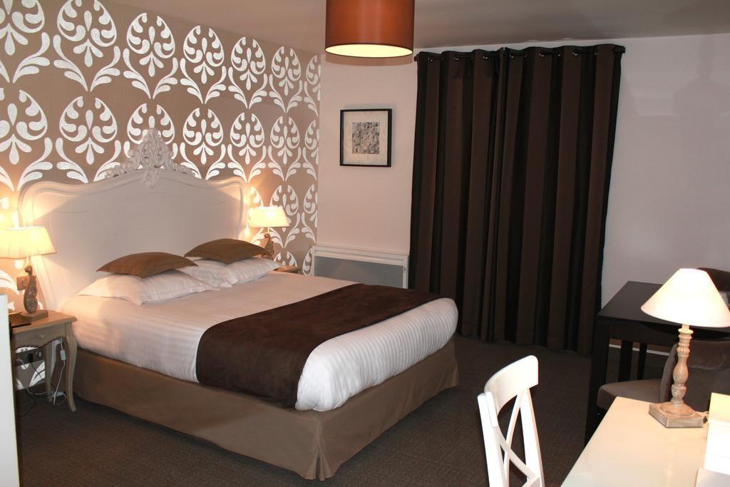 Une chambre de l'hôtel Le Clos de la Vaupalière