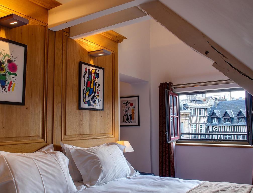 Chambre de L'hôtel de Bourgtheroulde and Spa à Rouen