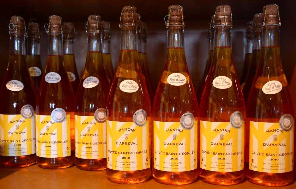 Cidre Cuvée Saint-Georges du Domaine d'Apreval