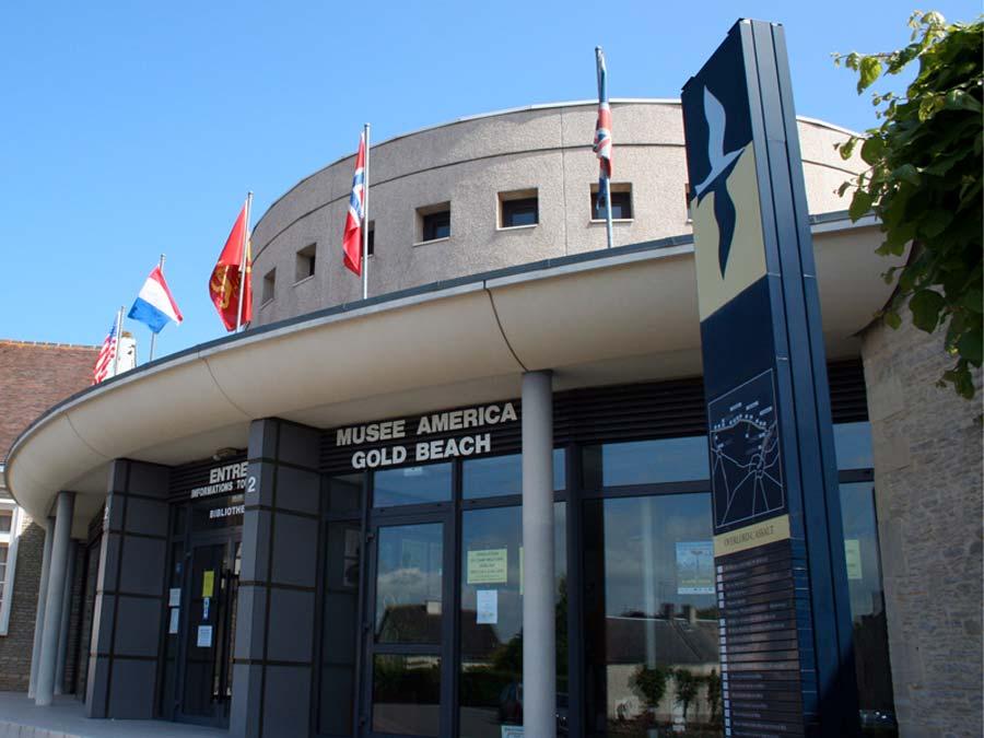 Musée America Gold Beach à Ver-sur-Mer