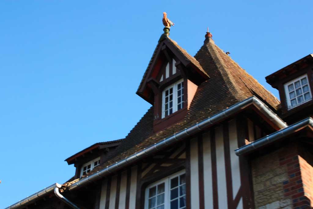 maisons normnades à Ttrouville