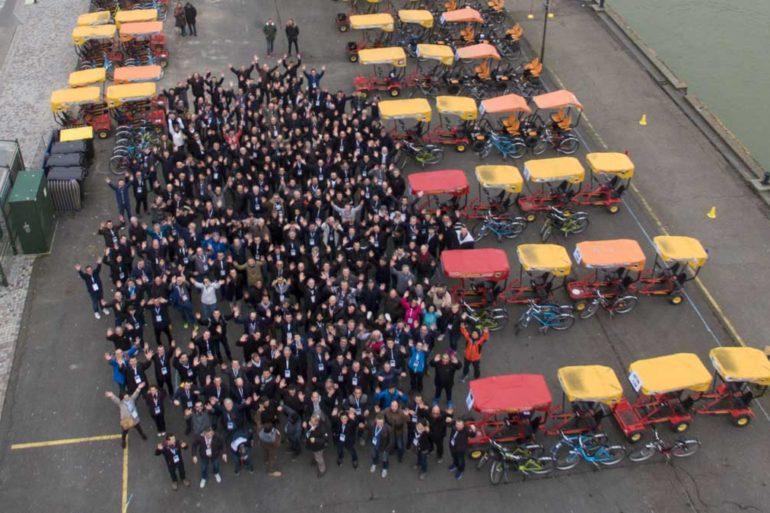 250 personnes en Séminaire Deauville Express