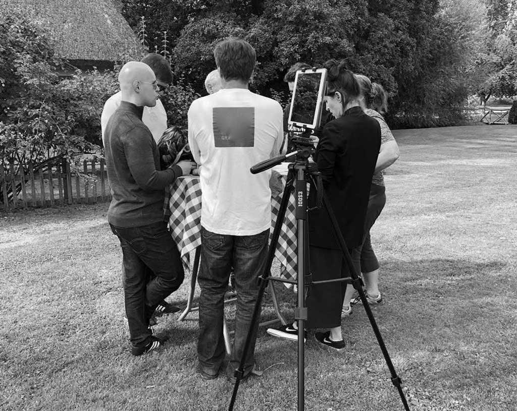 court-métrage sur iPad pour votre séminaire digital en Normandie