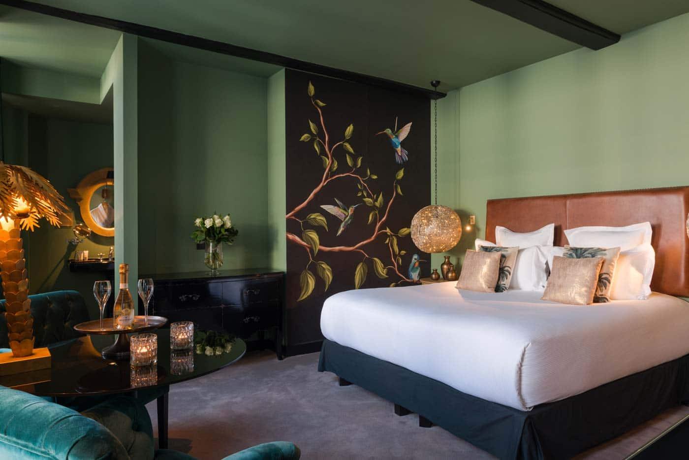 A Honfleur Hôtel, Restaurant, Spa - Les Maisons de Léa, une chambre