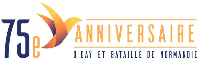 logo du 75e Anniversaire du Débarquement et Bataille de Normandie