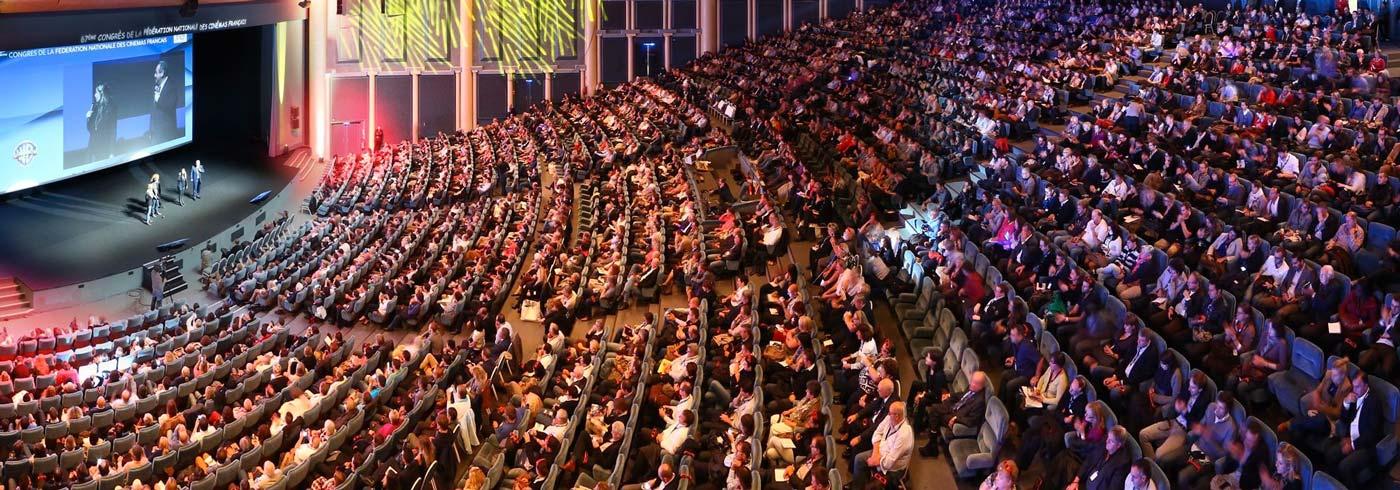 Le palais des congrès de Deauville, C.I.D - auditorium