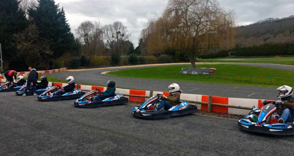Activité pour séminaire le karting