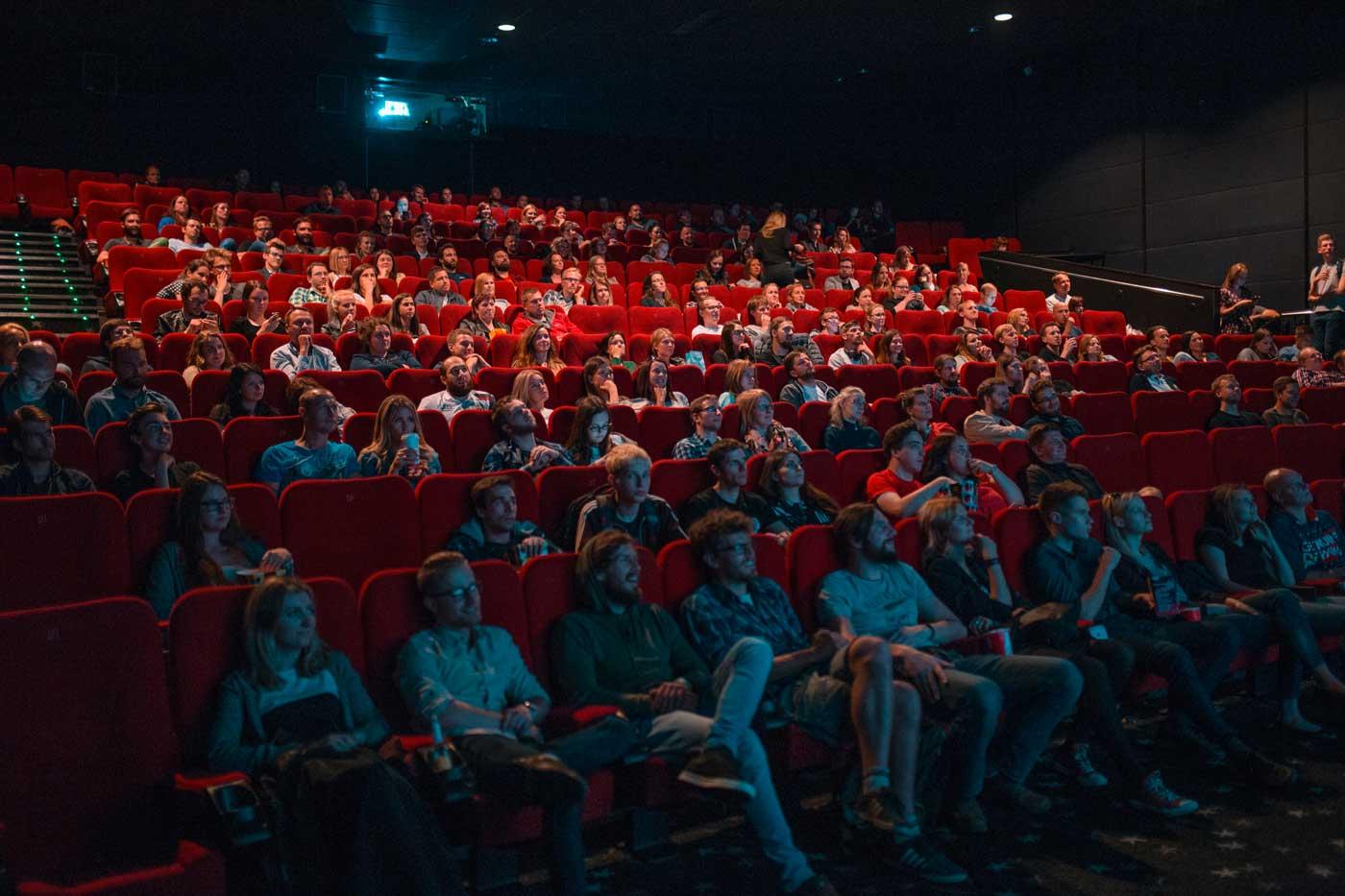 spectateurs au cinéma