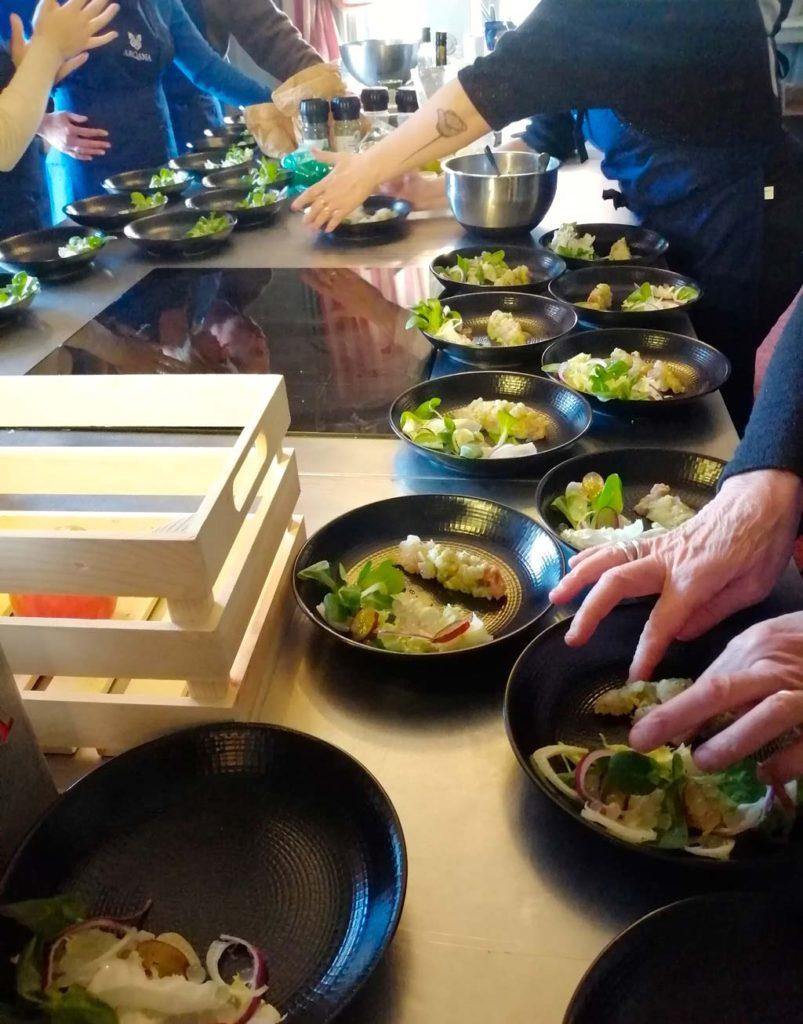 atelier cuisine à la Villa Strassburger de Deauville