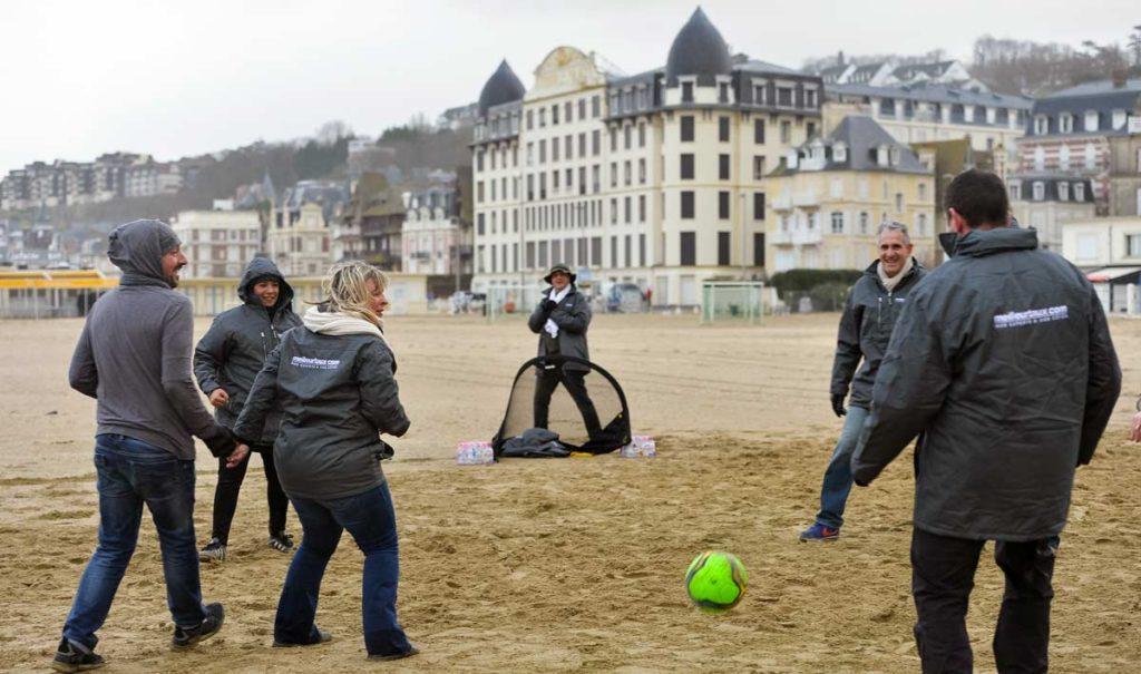 Le beach soccer à pratiquer en toute saison