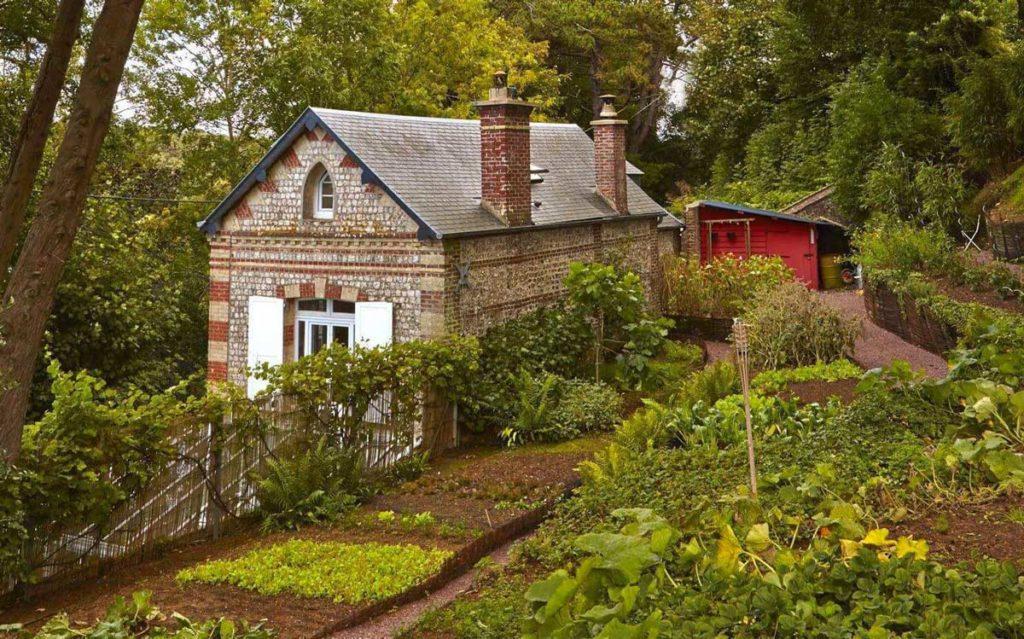 Le potager du restaurant Le Donjon - Domaine Saint Clair © DR