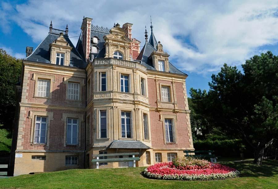 La Villa Montebello à Trouville
