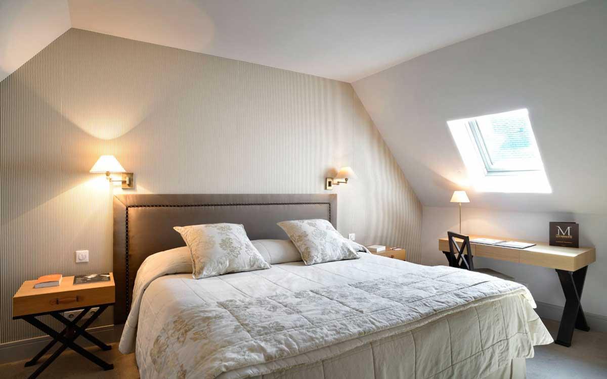 Une chambre aux Manoirs de Tourgéville