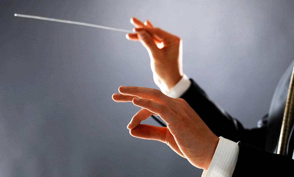 Team building musical en Normandie - apprendre la gestique du chef d'orchestre