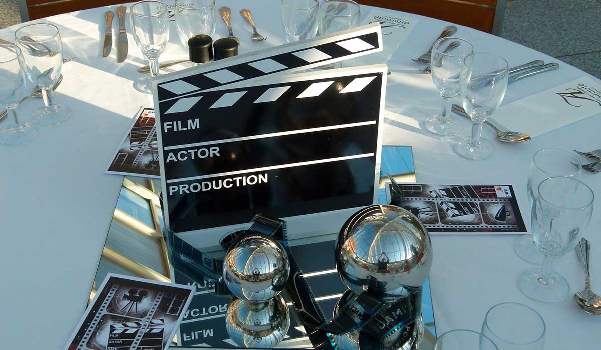 Soirée après un des ateliers cinéma à Deauville.