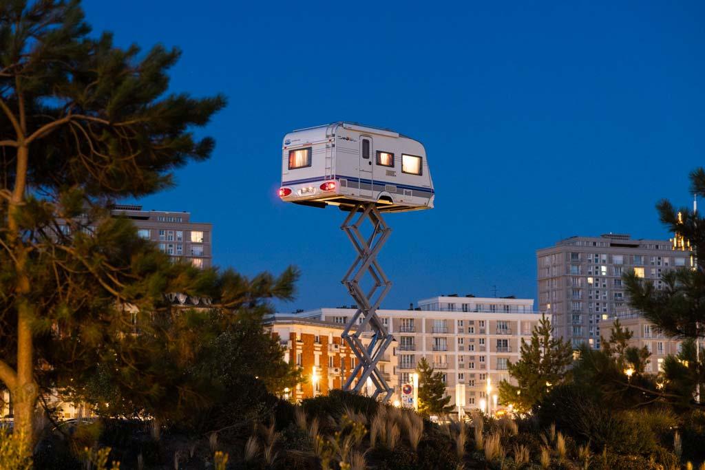 La Caravane dans le ciel de Benedetto Bufalino au Havre