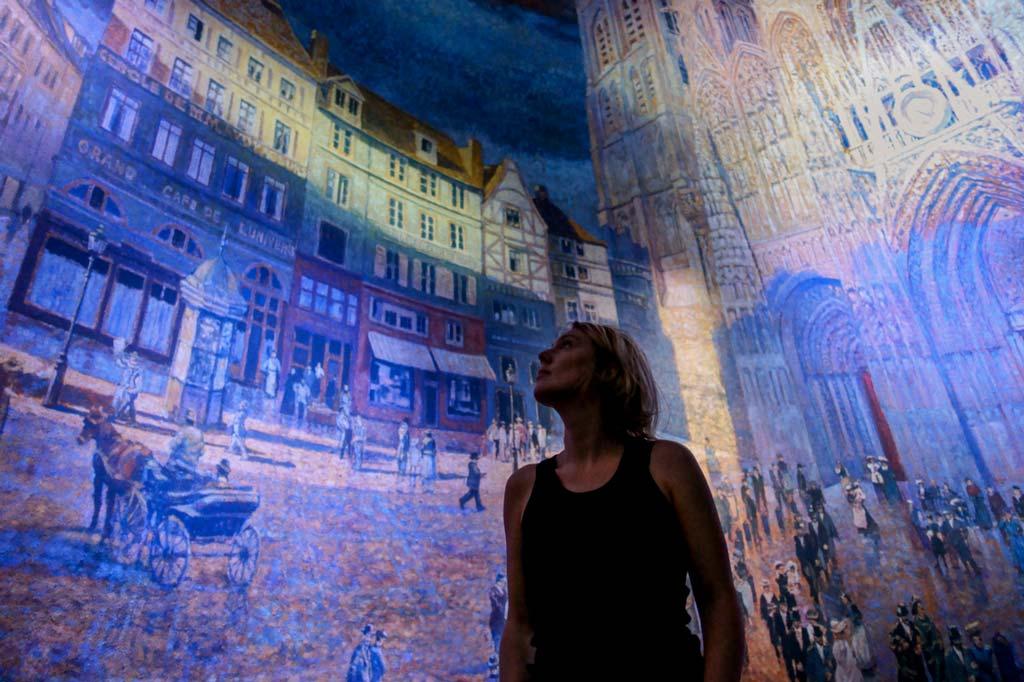 Panorama XXL à Rouen la Cathédrale de Monet en septembre 2020
