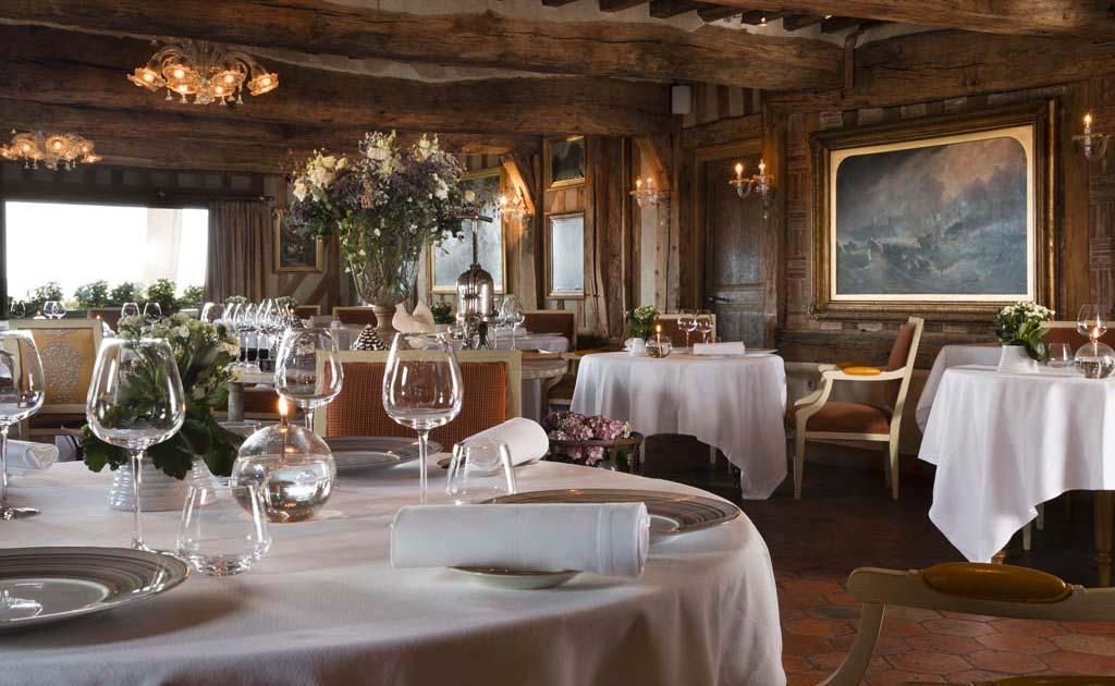 Restaurant gastronomique de l'hôtel La Ferme Saint-Siméon pour séminaire à Honfleur
