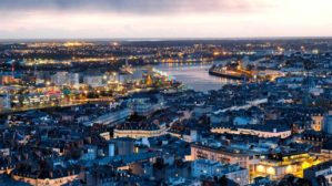 Nantes vue aérienne