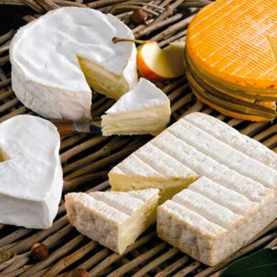 Les 4 fromages normands AOP