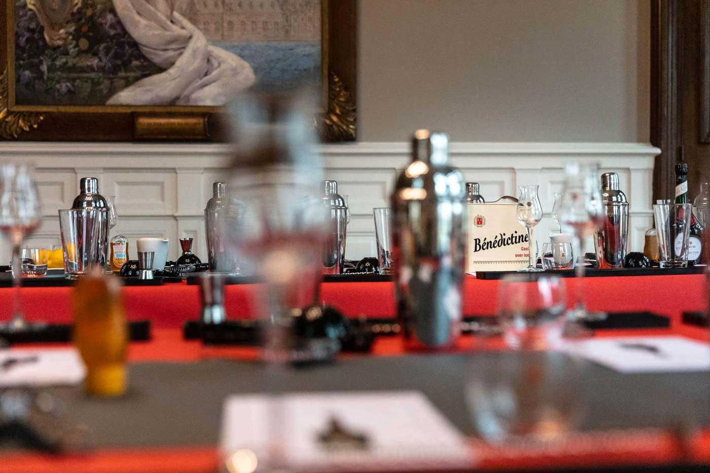 Atelier Cocktails au Palais Bénédictine à Fécamp