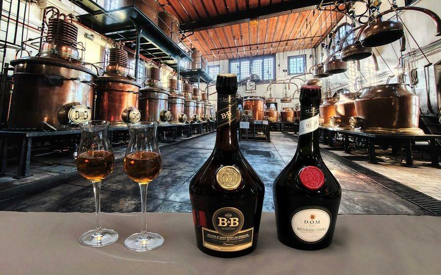 Distillerie du palais usine Bénédictine à Fécamp