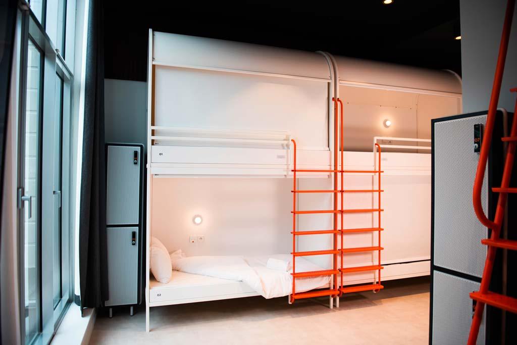 Une chambre partagée au YOU à Deauville, un des 3 nouveaux hôtels pour vos événements.